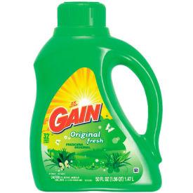 Gain® Liquid Laundry Detergent Original, 50 Oz. Bottle 6/Case - PAG12784