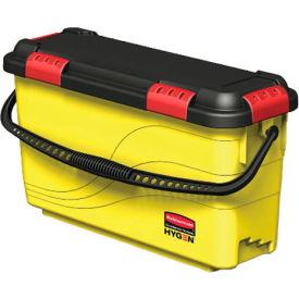 Rubbermaid® HYGEN 6-4/5 Gallon Charging Bucket, Yellow - RCPQ95088YW