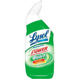 Lysol Disinfectant Toilet Bowl Cleaner W/ Bleach, 24 Oz. Bottle 12/Case - RAC75055CT