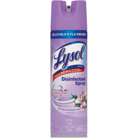 LYSOL® Disinfectant, Early Morning Breeze, 19 oz. Aerosol Spray, 12 Cans/Case - 80834
