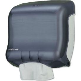 """San Jamar® Ultrafold C-Fold/ Towel Dispenser 11-1/2"""" x 6"""" x 11-1/2"""", Blk Pearl - SJMT1750TBKRD"""