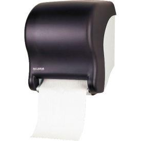 "San Jamar® Tear-N-Dry Touchless Towel Dispenser 11-3/4"" x 9-1/8"" x 14-7/16"", Black -SJMT8000TBK"