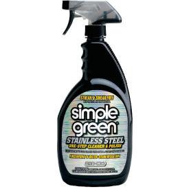 Simple Green® Stainless Steel Cleaner & Polish, 32oz. Trigger Spray Bottle, 12/Case - 18300