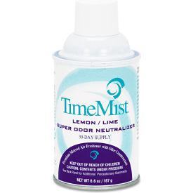 Metered Air Fragrance Dispenser Refill Lemon Lime, 6.6 Oz Aerosol 12/Case - WTB2701TMCA