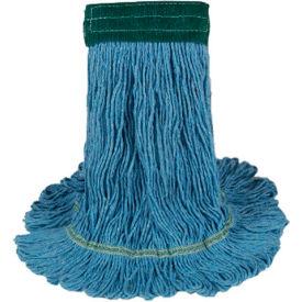 Medium Echomop Looped-End Wet Mop Head, Blue 12/Pack - UNS1400MCT