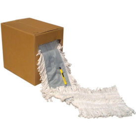 Flash 40 Cotton Disposable Dustmop Roll, Natural - UNSFF40