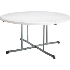 Lifetime 60 Round Commercial Fold In Half Table