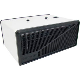 Portable Electronic Air Purifier - 110 CFM 120V - White with Black Trim