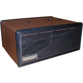 Portable Media Air Purifier -110 CFM 230V - Wood with Black Trim