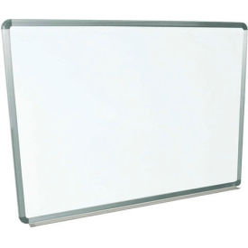 Magnetic Whiteboard - 48 x 36 - Steel Surface - Aluminum Frame