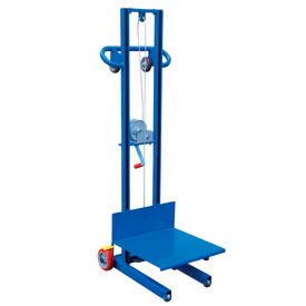 Vestil Steel Construction Lite Load Lift LLW-202058-FW - Winch Operation