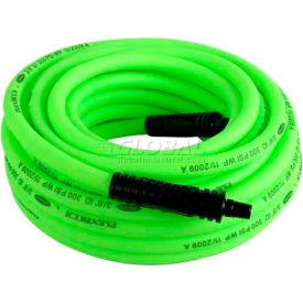 """Flexzilla® HFZ3850YW2 3/8""""x50' 300 PSI Hybrid Polymer All Weather Air Hose"""