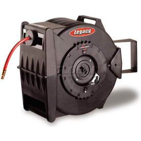 """Legacy™ L8310 3/8""""x 100' 350 PSI Enclosed Chassis Spring Retractable Composite Hose Reel"""