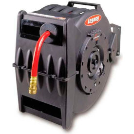 """Legacy™ L8335 1/2""""x50' 300 PSI Enclosed Chassis Spring Retractable Composite Hose Reel"""