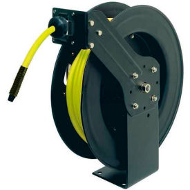 "Legacy™ L8611FZ 3/8""x50' 300 PSI Spring Retractable Steel Air Hose Reel W/ Flexzilla Hose"