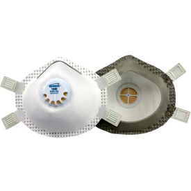 Gerson® R95 Welding Fume Respirator with Exhalation Valve 1840, White, 5/Bag, 20 Bags/case