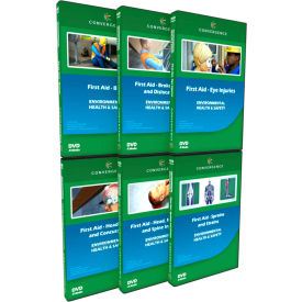 Convergence Training First Aid - Injuries Combo-Pack, C-056, DVD