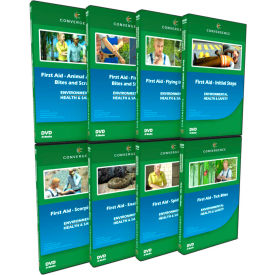 Convergence Training First Aid - Bites and Stings Combo-Pack, C-058, DVD