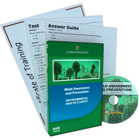 Convergence Training Mold Awareness and Prevention, C-361, English, DVD
