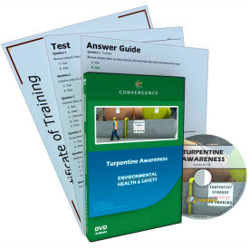 Convergence Training Turpentine Awareness, C-375, English, DVD