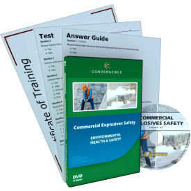 Convergence Training Commercial Explosives Safety, C-561, DVD