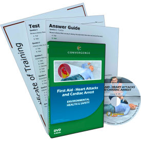 Convergence Training First Aid - Heart Attacks and Cardiac Arrest, C-883, DVD
