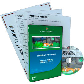 Convergence Training First Aid - Poisoning, C-890, DVD