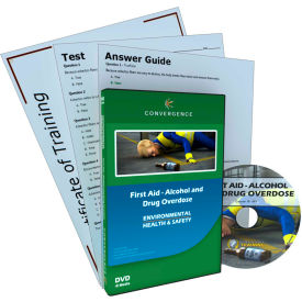 Convergence Training First Aid - Alcohol and Drug Overdose, C-891, DVD
