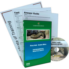 Convergence Training First Aid - Snake Bites, C-897, DVD