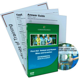 Convergence Training First Aid - Animal and Human Bites and Scratches, C-898, DVD