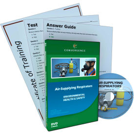 Convergence Training Air Supplying Respirators, C901, DVD