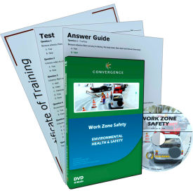 Convergence Training Work Zone Safety, C-909, DVD