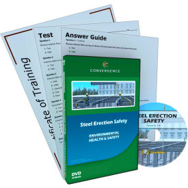 Convergence Training Steel Structure Assembly Safety, C-910, DVD