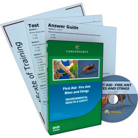 Convergence Training First Aid - Fire Ant Bites and Stings, C-960, DVD