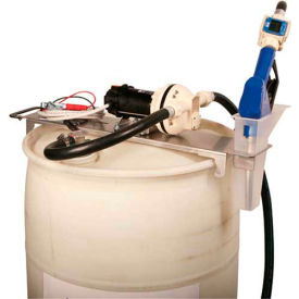Liquidynamics 33115-S2A Drum Topper System, 12 VDC 55 Gallon W/Automatic Nozzle