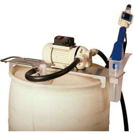 Liquidynamics 33115-S2M Drum Topper System, 12 VDC 55 Gallon W/Manual Nozzle