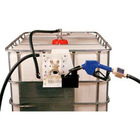Liquidynamics 970012-06A Closed IBC Transfer System 14 GPM Pump W/12' Hose, Automatic Nozzle