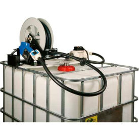 Liquidynamics 970027-02A Closed IBC Transfer System 8 GPM Pump W/25' Hose, Automatic Nozzle