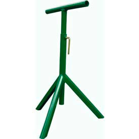 "Tripod Stand for Ashland 24"" OAW Skatewheel & 22"" BF, 1-3/8"" Roller Dia. Conveyor, 25"" to 43"" H"
