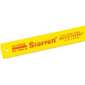 L.S. STARRETT 40076 Redstripe HSS Power Hacksaw Blades Package Count 4