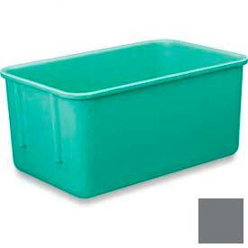 LEWISBins Plexton® NO118-4 Fiberglass Nest Only Container, 11-29/32 x 8-13/16 x 4-1/8, Gray - Pkg Qty 10