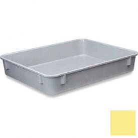 LEWISBins Plexton® NO129-2 Fiberglass Nest Only Container, 12-13/32 x 9-13/16 x 2-1/8, Yellow - Pkg Qty 22