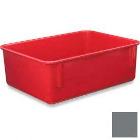 LEWISBins Plexton® NO1411-4 Fiberglass Nest Only Container, 14-5/8  x  11-5/8  x  4-1/8, Gray - Pkg Qty 10