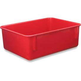 LEWISBins Plexton® NO1411-4 Fiberglass Nest Only Container, 14-5/8  x  11-5/8  x  4-1/8, Red - Pkg Qty 10