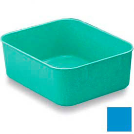 LEWISBins Plexton® NO65-2 Fiberglass Nest Only Container, 6-5/16  x  4-29/32  x  2-1/8, Blue - Pkg Qty 48