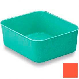 LEWISBins Plexton® NO65-2 Fiberglass Nest Only Container, 6-5/16  x  4-29/32  x  2-1/8, Red - Pkg Qty 48