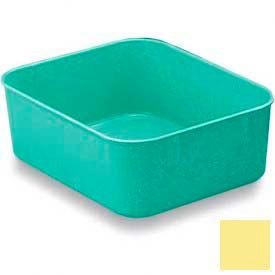 LEWISBins Plexton® NO65-2 Fiberglass Nest Only Container, 6-5/16 x 4-29/32 x 2-1/8, Yellow - Pkg Qty 48