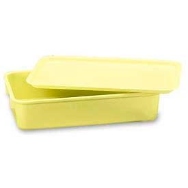 LEWISBins Plexton® NO96-2 Fiberglass Nest Only Container, 9-13/16 x 6-3/16 x 2-1/8, Yellow - Pkg Qty 48