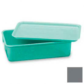 LEWISBins Plexton® NO96-4 Fiberglass Nest Only Container, 9-13/16  x  6-3/16  x  4-1/2, Gray - Pkg Qty 16