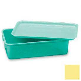LEWISBins Plexton® NO96-4 Fiberglass Nest Only Container, 9-13/16 x 6-3/16 x 4-1/2, Yellow - Pkg Qty 48